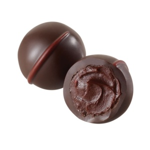 dark chocolate raspberry truffle